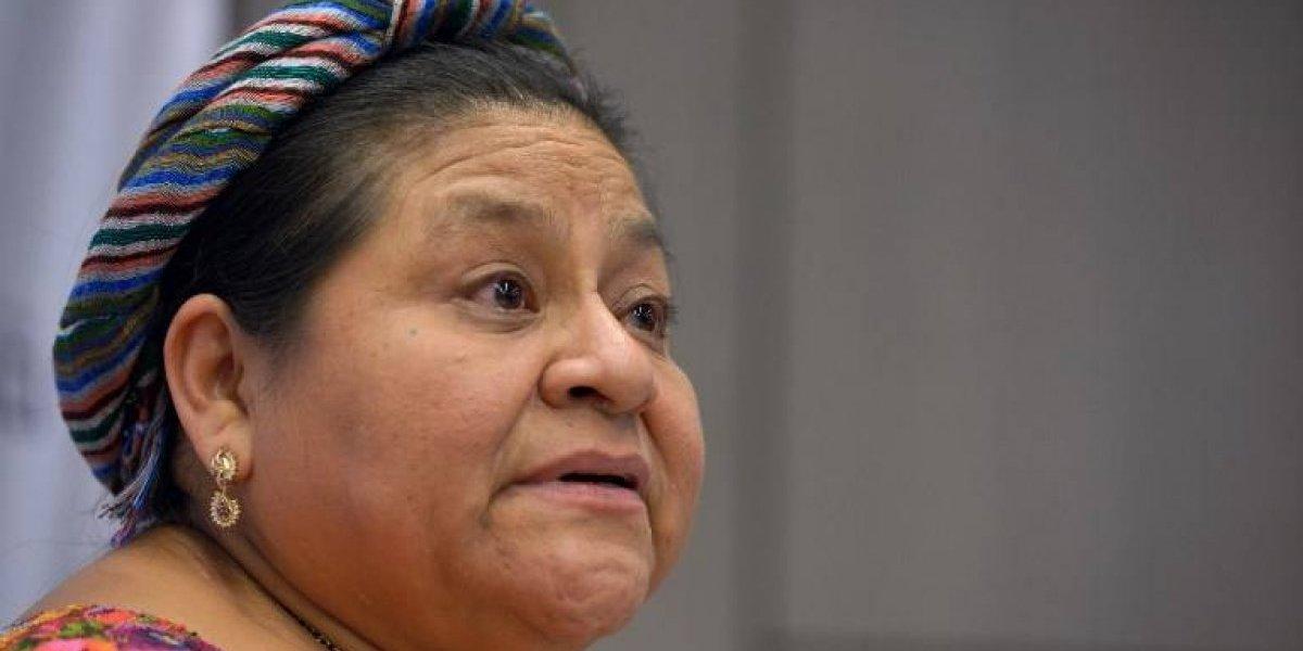 """Rigoberta Menchú insta a """"condenar las decisiones ilegales y antidemocráticas del gobierno"""""""