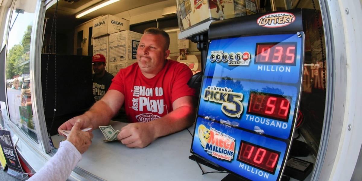 Boleto de Powerball vendido en California gana 447 millones