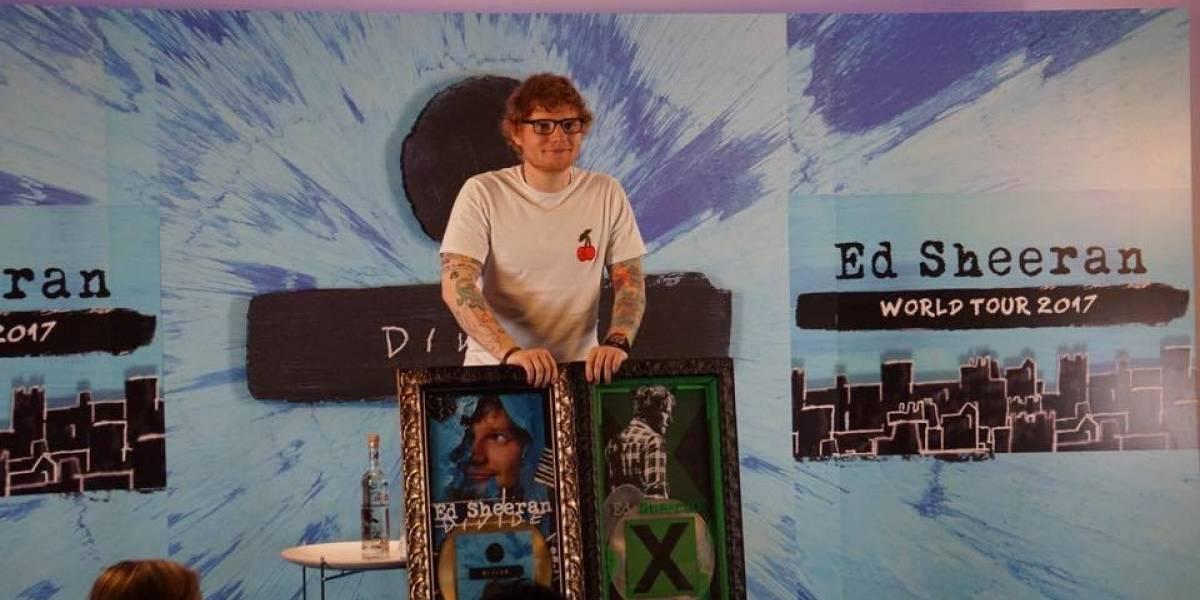 Ed Sheeran en pláticas para colaborar con Alejandro Sanz