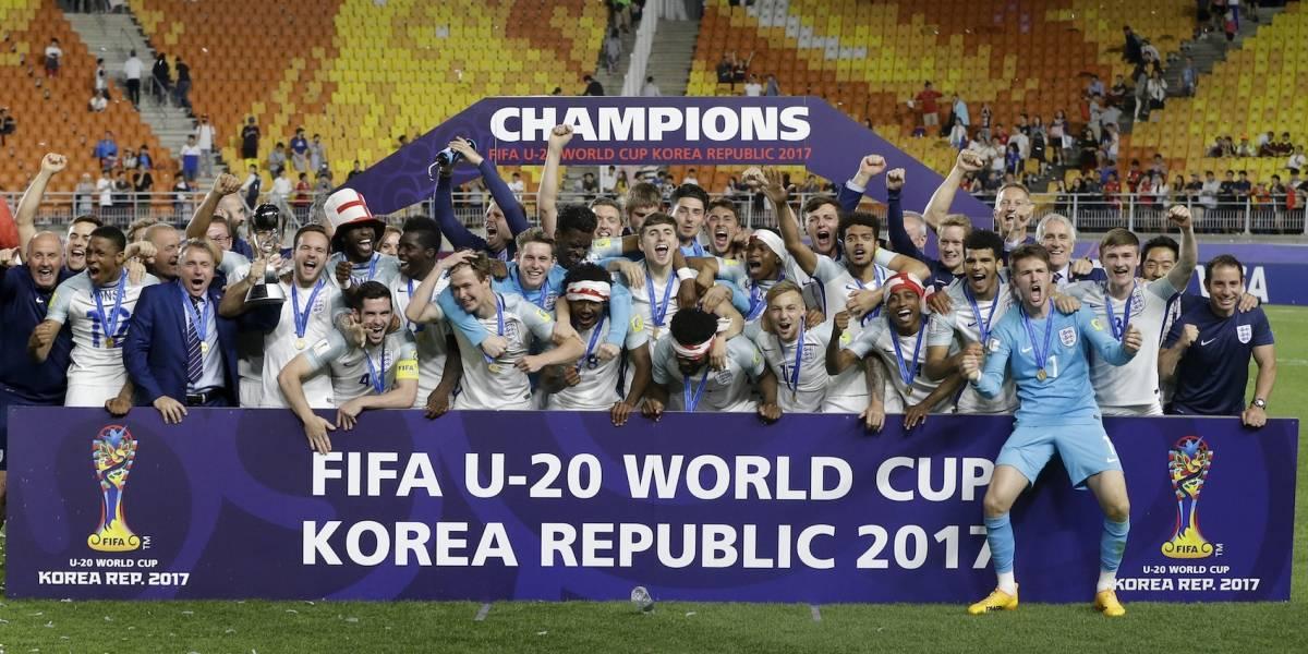 Inglaterra vence a Venezuela y es campeón Sub20