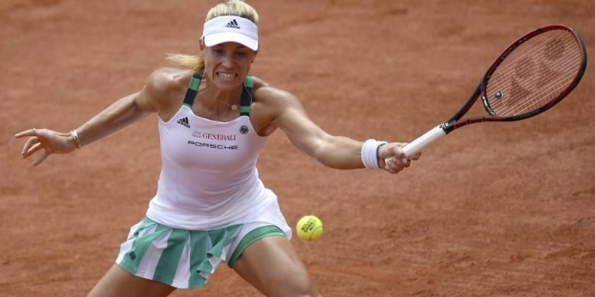 Kerber sigue Nº1 del tenis femenino tras derrota de Halep en final de Roland Garros