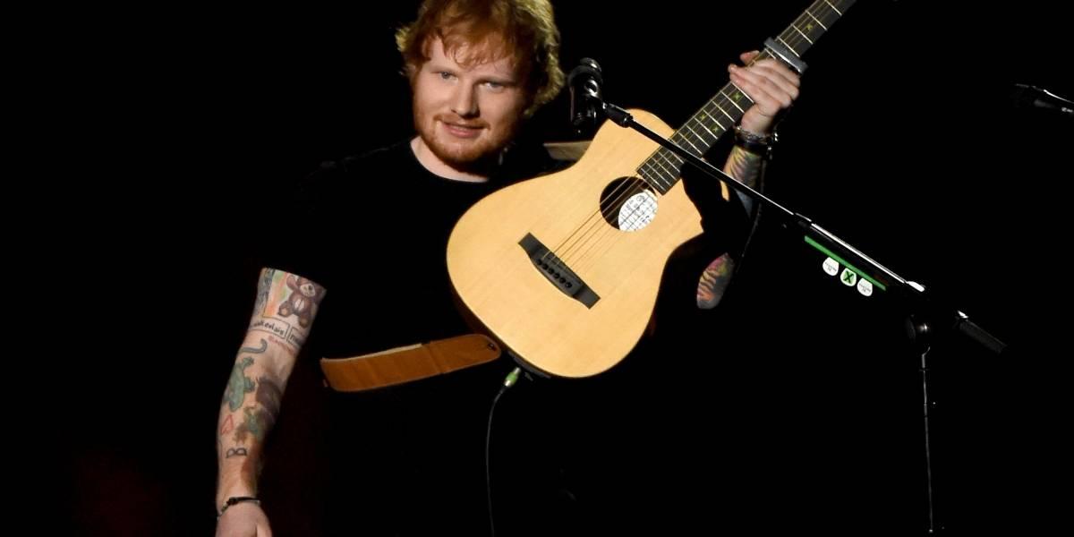 """Ed Sheeran confesó que quería cantar """"Despacito"""" y que Justin Bieber se le adelantó"""