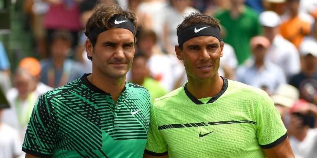 """Federer elogia a Nadal por Roland Garros: """"Es lindo ver que se pueda alcanzar un objetivo tan grande"""""""