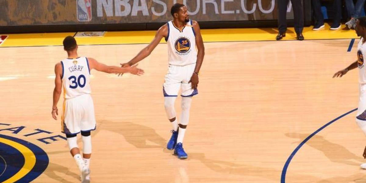 Con un brillante Durant: Golden State se venga de Cleveland y le quita el título de la NBA