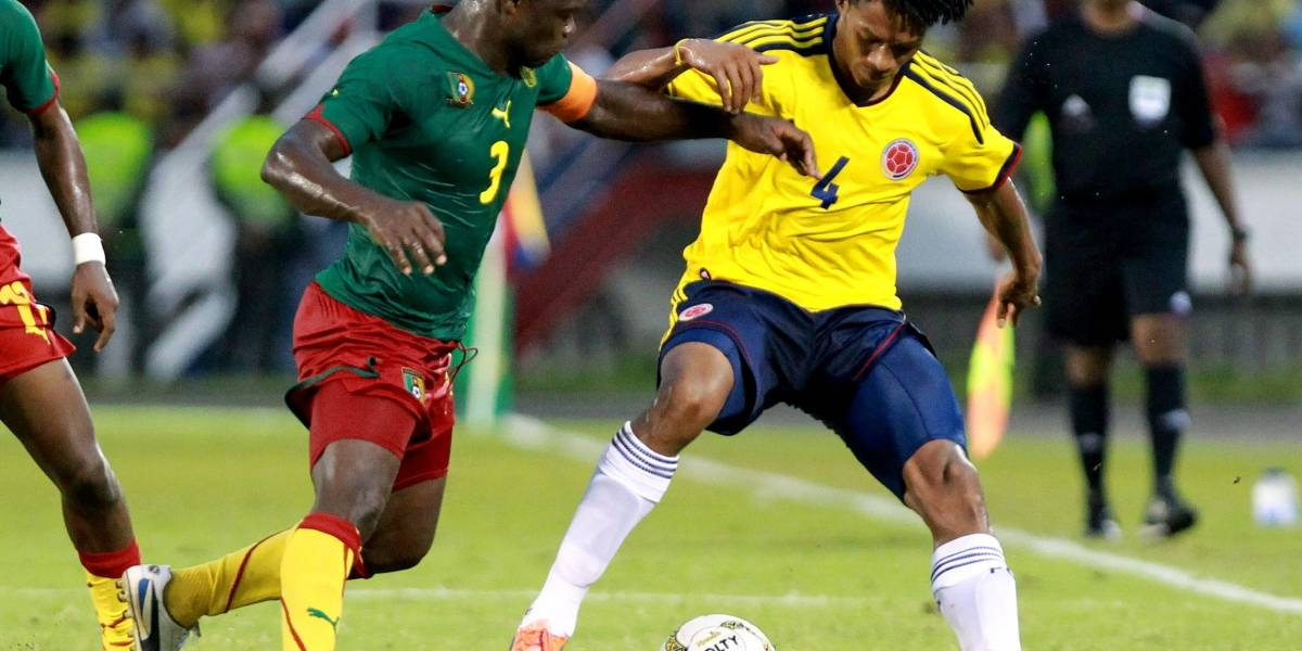 Colombia vs Camerún: un partido con una historia trascendental