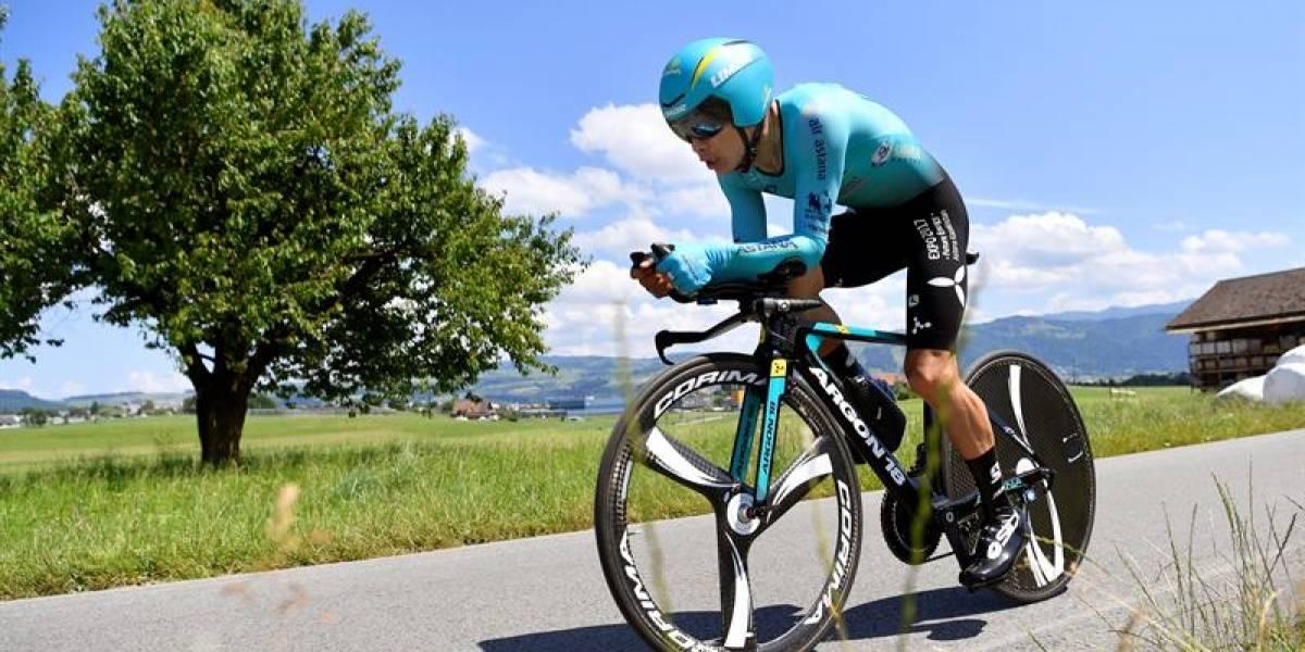 Caída de 'Superman' López en el Tour de Suiza causó preocupación