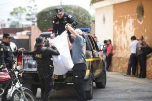 Adolescente asesinada en Villa Nueva