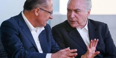 PSDB pode sair do governo a qualquer momento, diz Alckmin