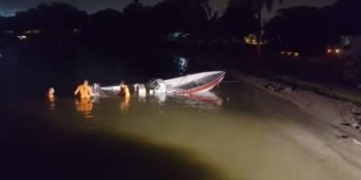 Cartagena: accidente en lancha deja cinco heridos y dos desaparecidos