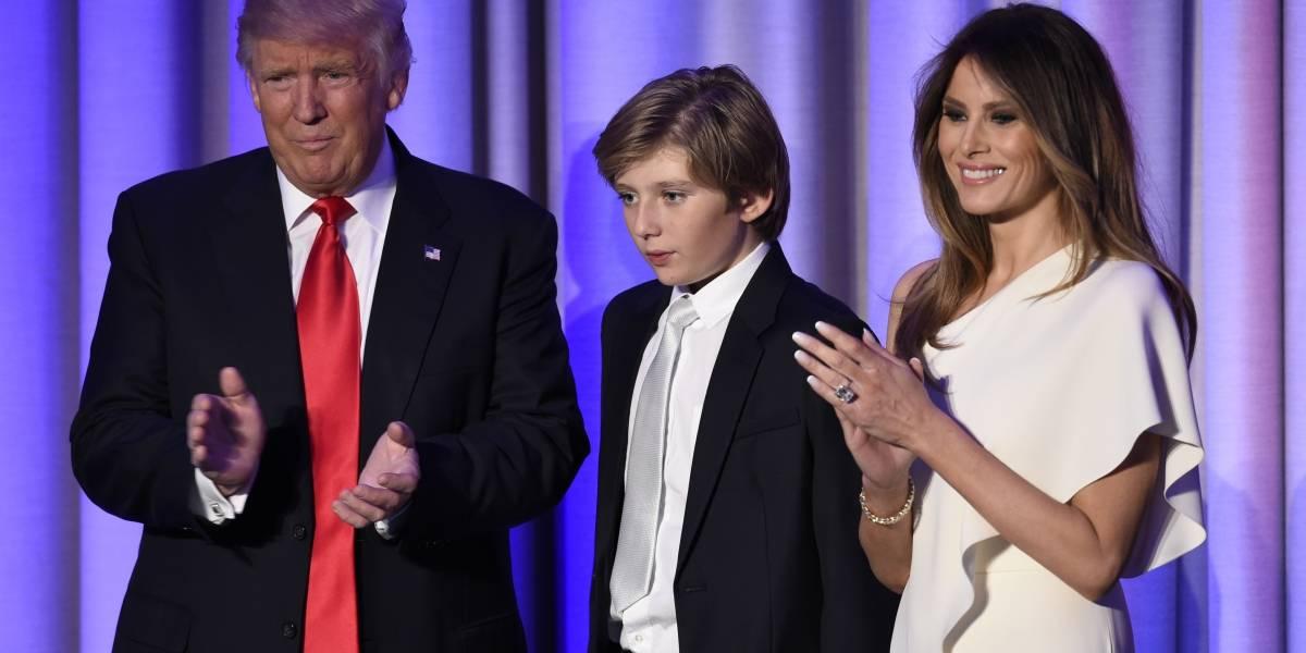 Toda la familia Trump está en la Casa Blanca: Melania y Barron finalmente se mudan a Washington