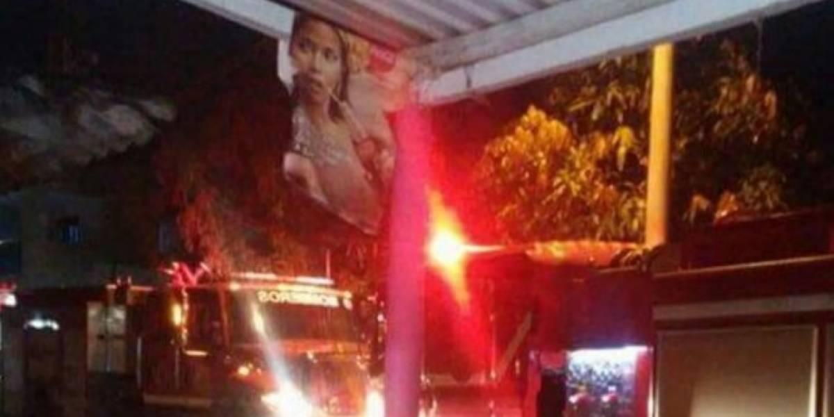 Denuncian que una concejal usó máquinas de bomberos para llenar su piscina, en Baranoa Atlántico