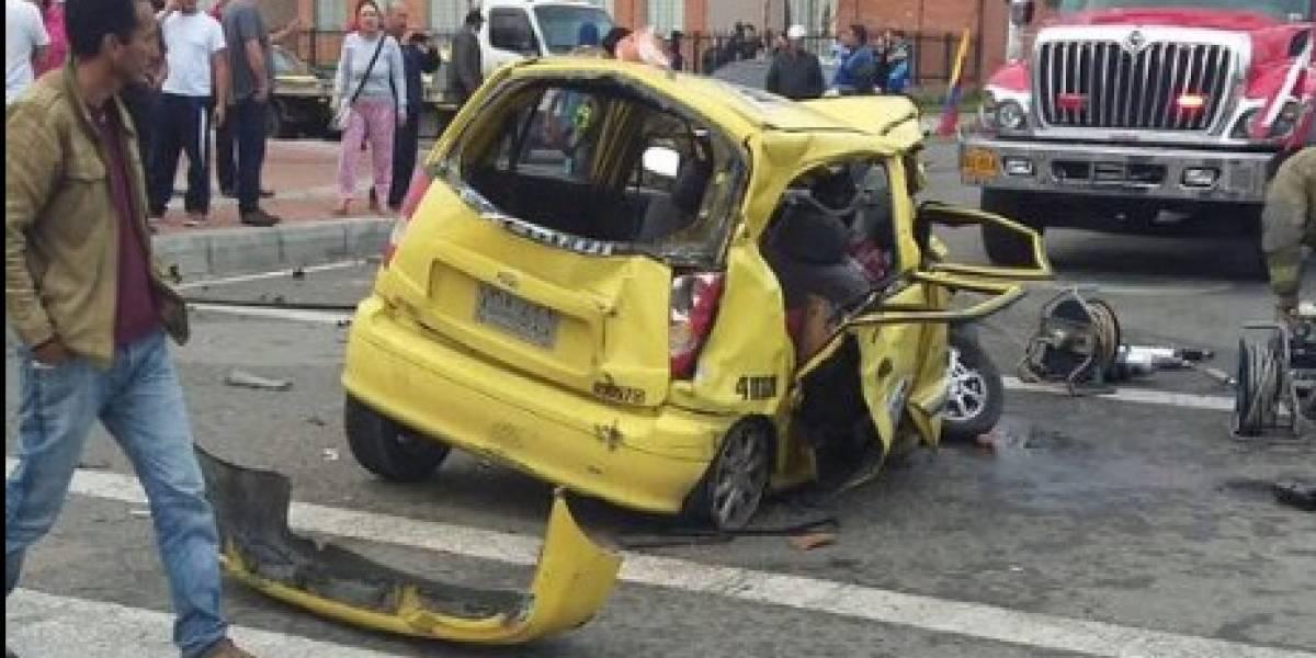 Video: Conductor ebrio deja 5 personas heridas en Bogotá