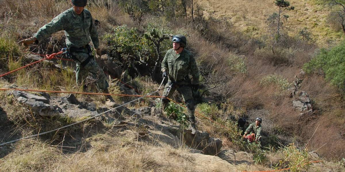 Sedena localiza cuerpos de cuatro de los seis militares desaparecidos en Guerrero