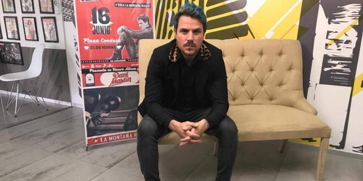 Dani Martin se declara fan del talento mexicano