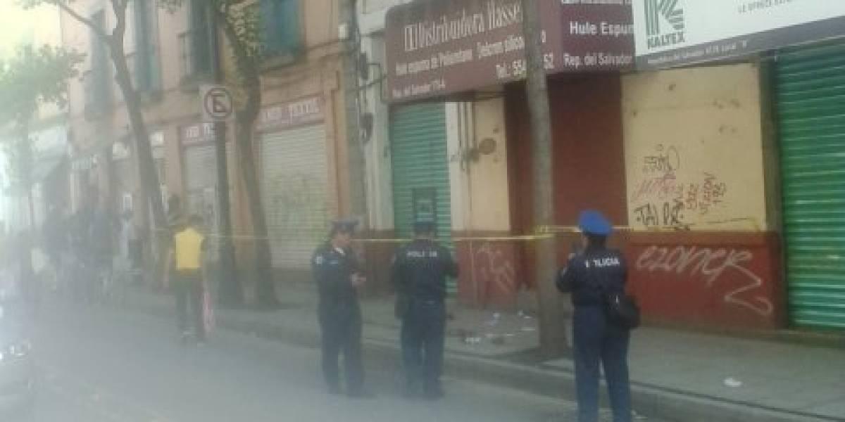 Reportan balacera en el Centro Histórico; al menos un herido
