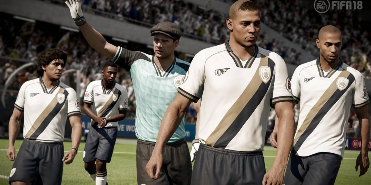 Con Pelé, Ronaldo y Maradona: El equipo de leyendas que incluirá el FIFA 18