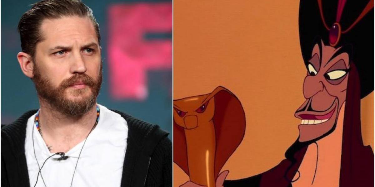 Tom Hardy podría ser Jafar en la adaptación de Aladin