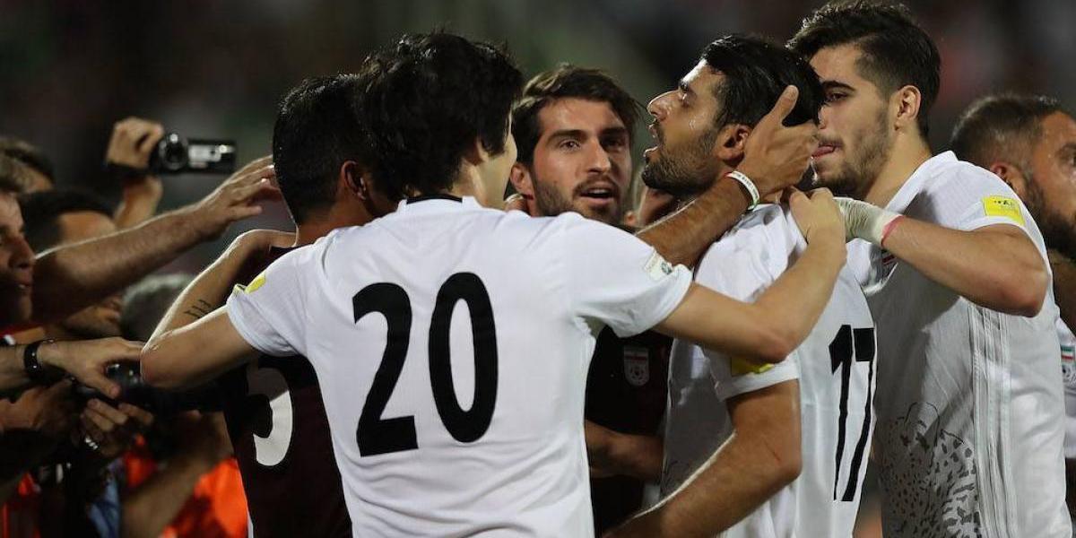 Irán se convierte en el tercer país clasificado al Mundial de Rusia 2018