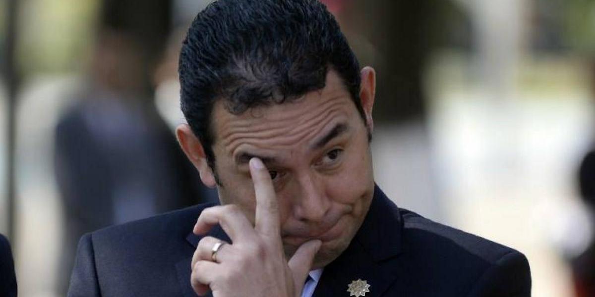 MP remitirá solicitud de antejuicio contra Jimmy Morales por caso Hogar Seguro