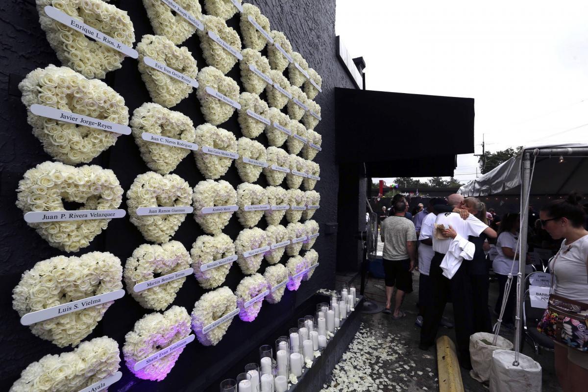A un año de la masacre en el bar Pulse Foto: AP