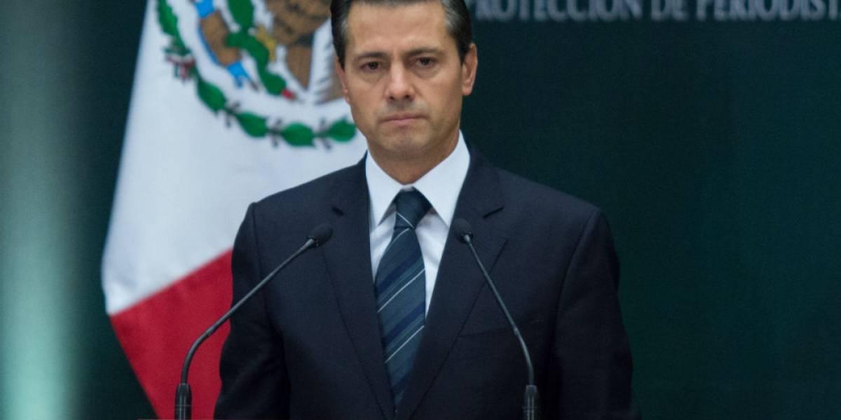 Peña Nieto se reúne con gabinete en Los Pinos