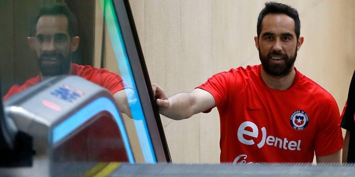 ANFP aclaró el motivo del viaje de Claudio Bravo a España