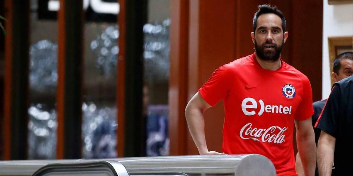Claudio Bravo pone las buenas nuevas en la Roja y apunta a retomar la titularidad