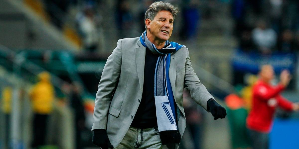 Renato Gaúcho comanda treino do Grêmio no Sul