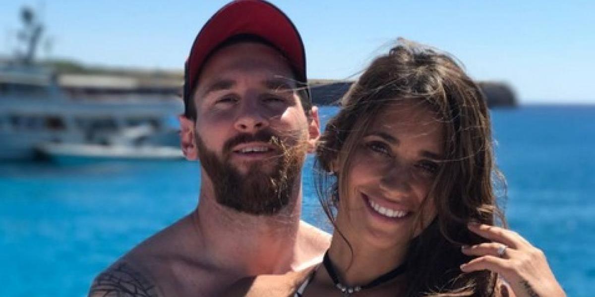 Antonella Roccuzzo presume sexy figura durante sus vacaciones