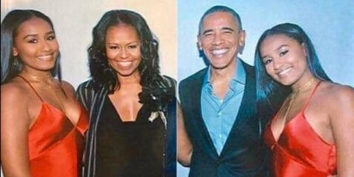 """Difunden fotos de los """"Dulces 16"""" de Sasha Obama"""