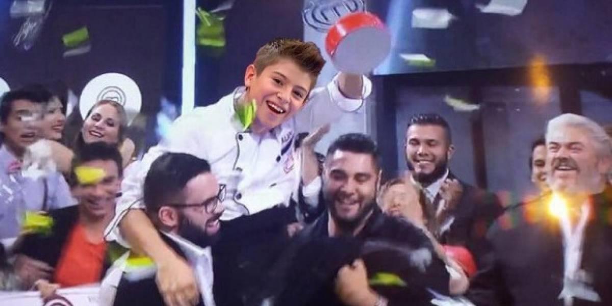 No fue Diego, él es el verdadero ganador de MasterChef Junior