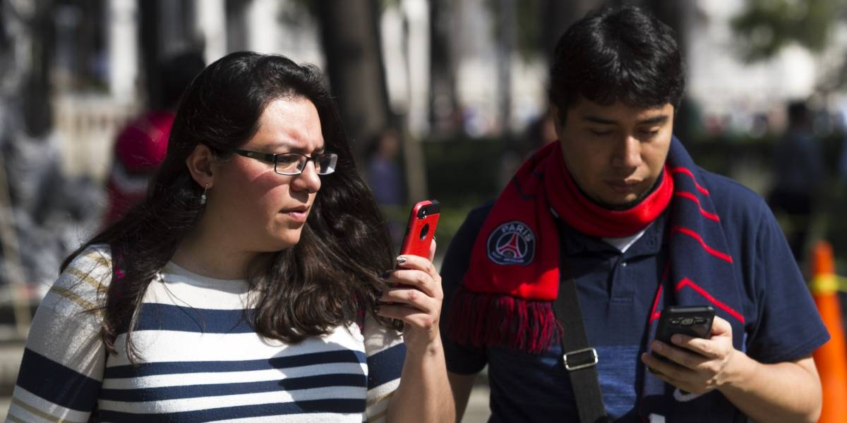 Más de 67% de la población usa un teléfono celular