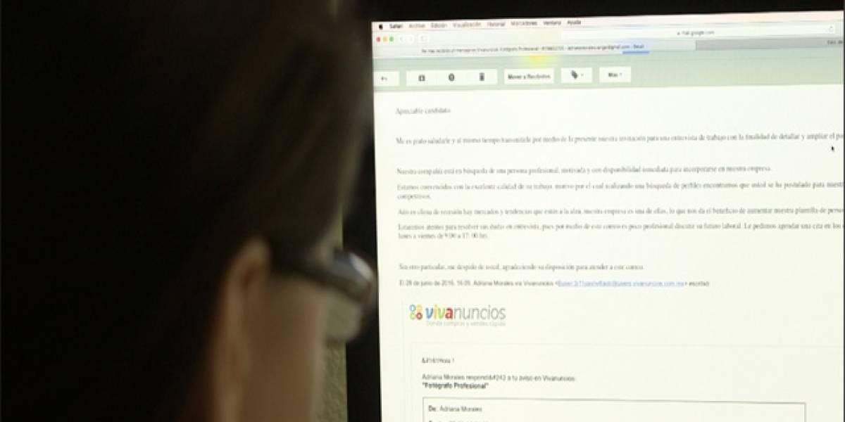 ¡Alerta! Ofertas de empleo engañosas por internet