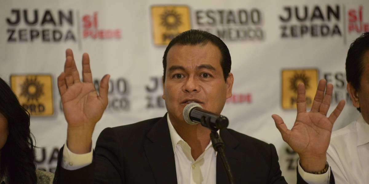 AMLO huele la victoria y se intoxica: Juan Zepeda