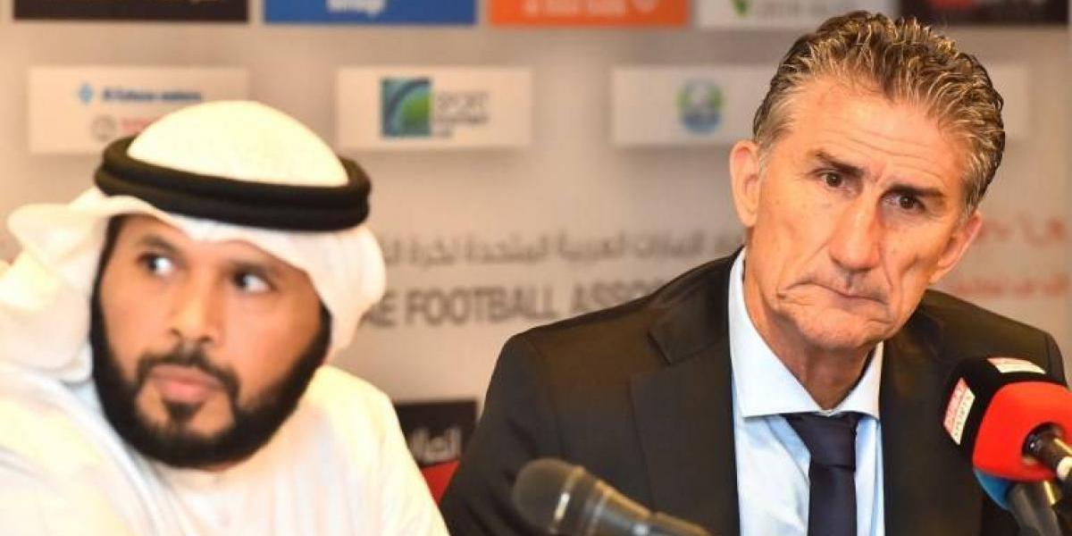 Patón Bauza no levanta cabeza y debutó con el pie izquierdo en Emiratos Árabes