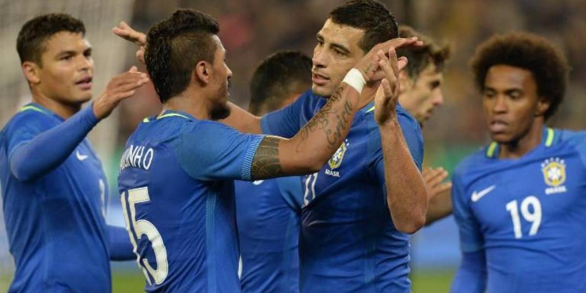 Brasil le dio un toque a Australia antes de la Copa Confederaciones