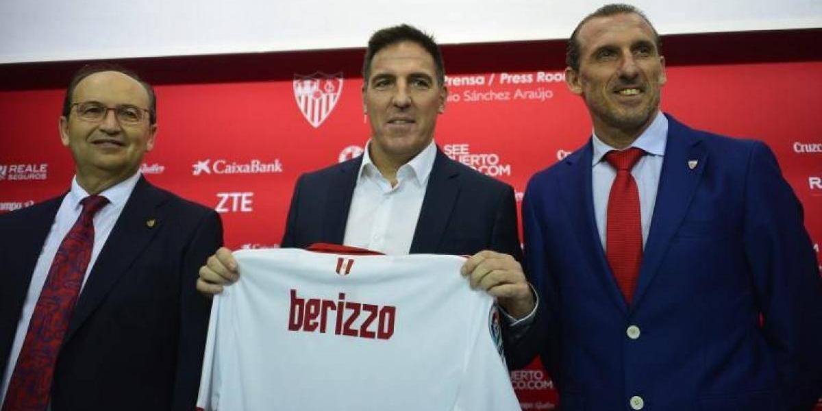 Berizzo fue presentado en el Sevilla asumiendo herencia de Sampaoli