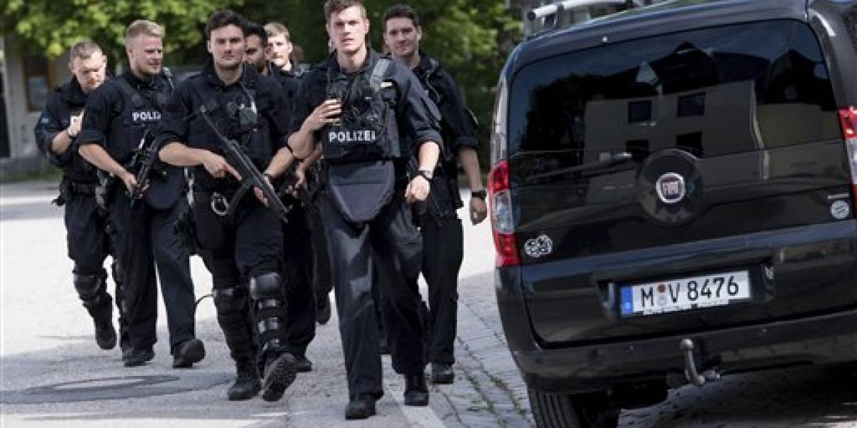 Tiroteo en Múnich deja al menos cuatro heridos