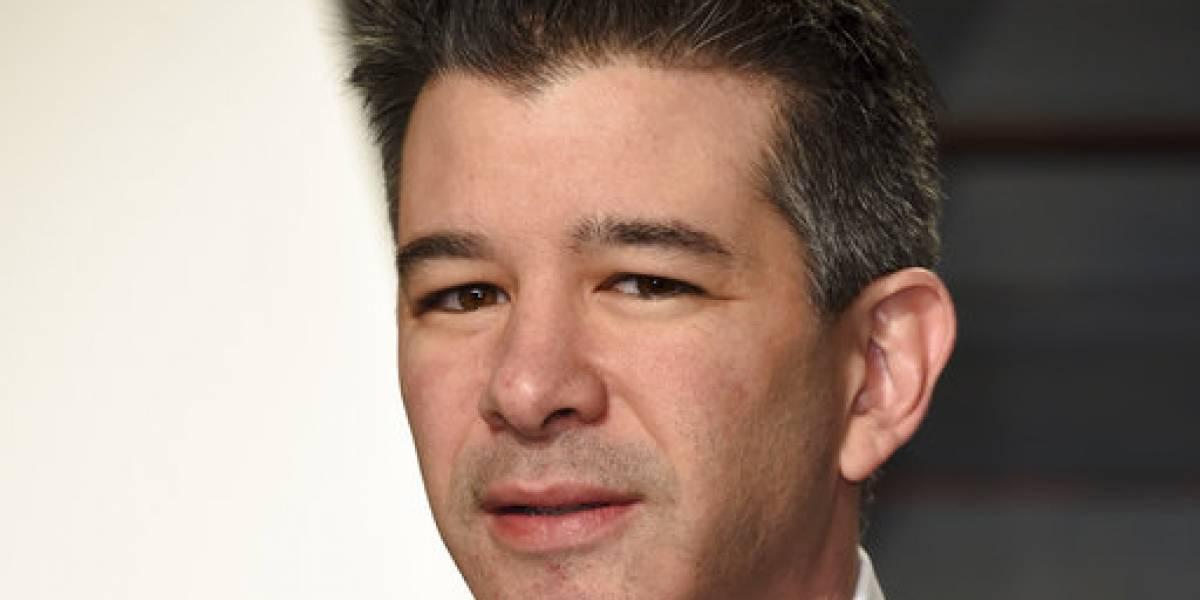 CEO de Uber se toma licencia por tiempo indeterminado