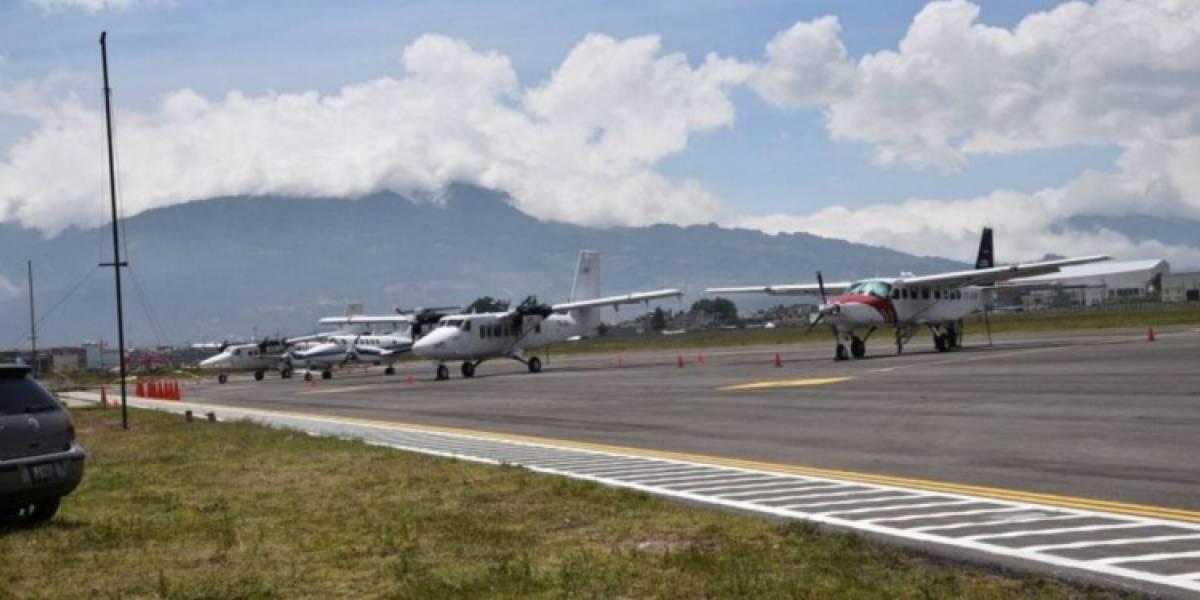 Aeropuerto Los Altos en Quetzaltenango es habilitado nuevamente