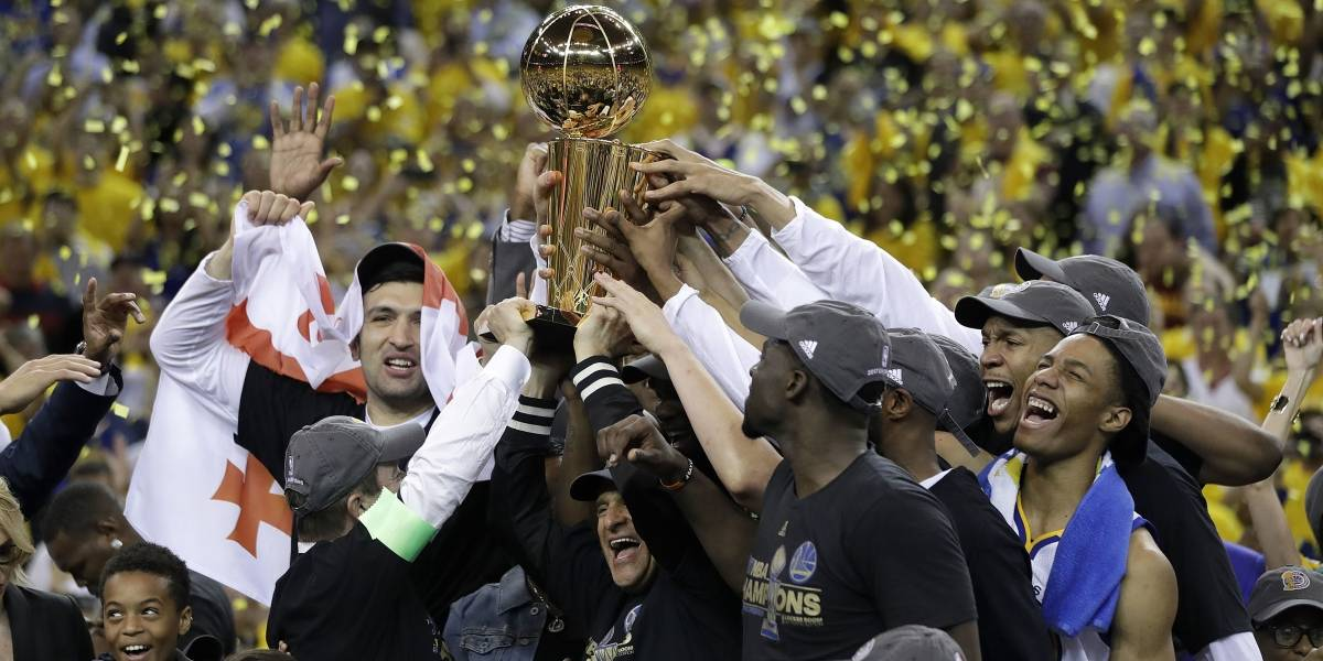Warriors, campeones de la NBA en 2017