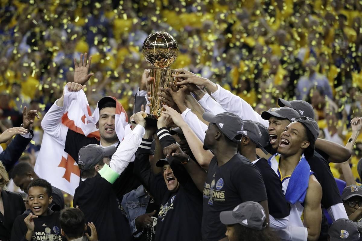 Resultado de imagen para Los Warriors campeon 2017