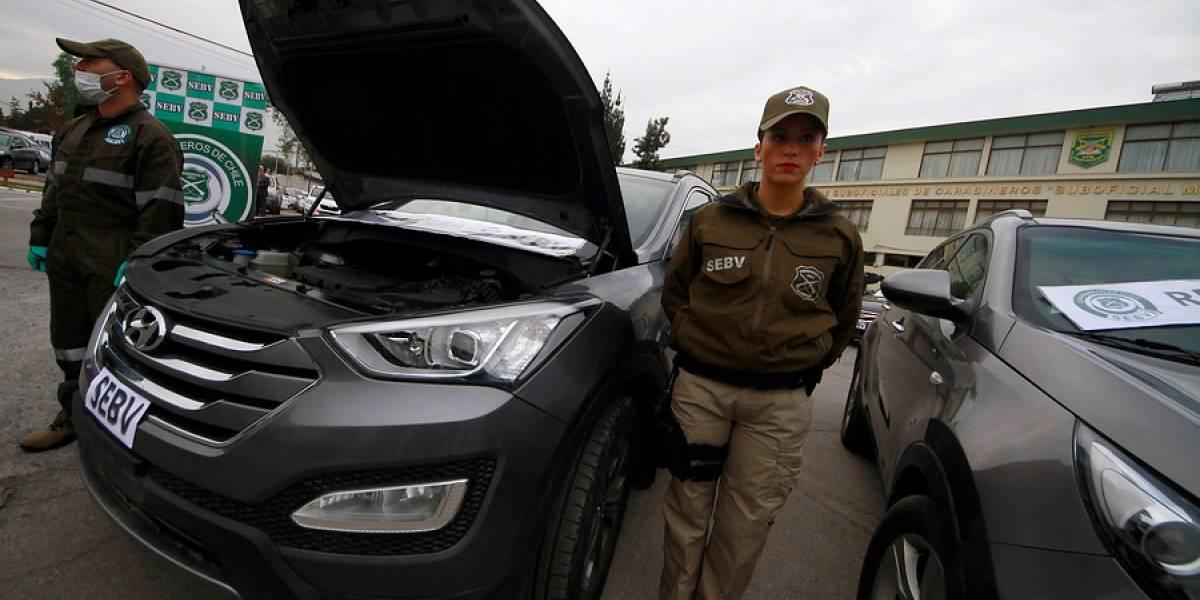Entre enero y abril han robado más de tres mil vehículos asegurados