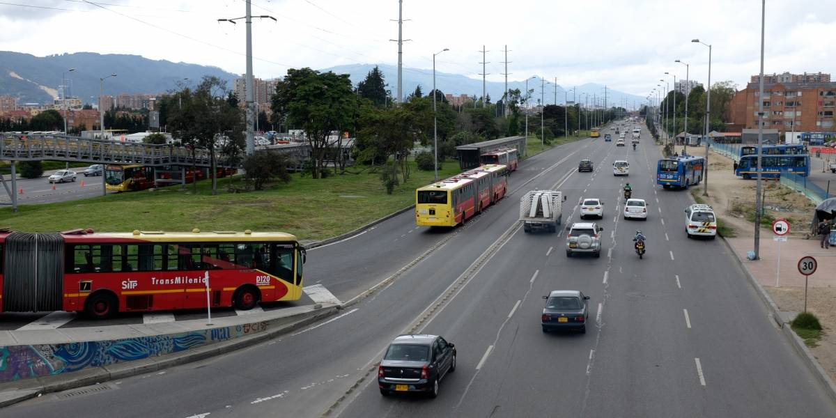 El dilema de ampliar la Séptima y la Autopista Norte