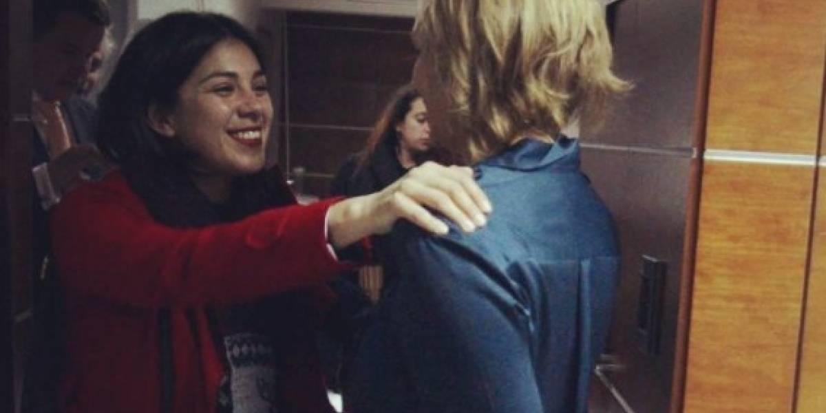 """Volvió el amor: así fue el esperado encuentro entre Carolina Goic y la """"chica comunista"""""""