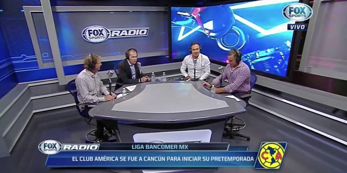 """VIDEO: """"Mientras cómetela"""", Quirarte calla a Brailovsky por el título de Chivas"""