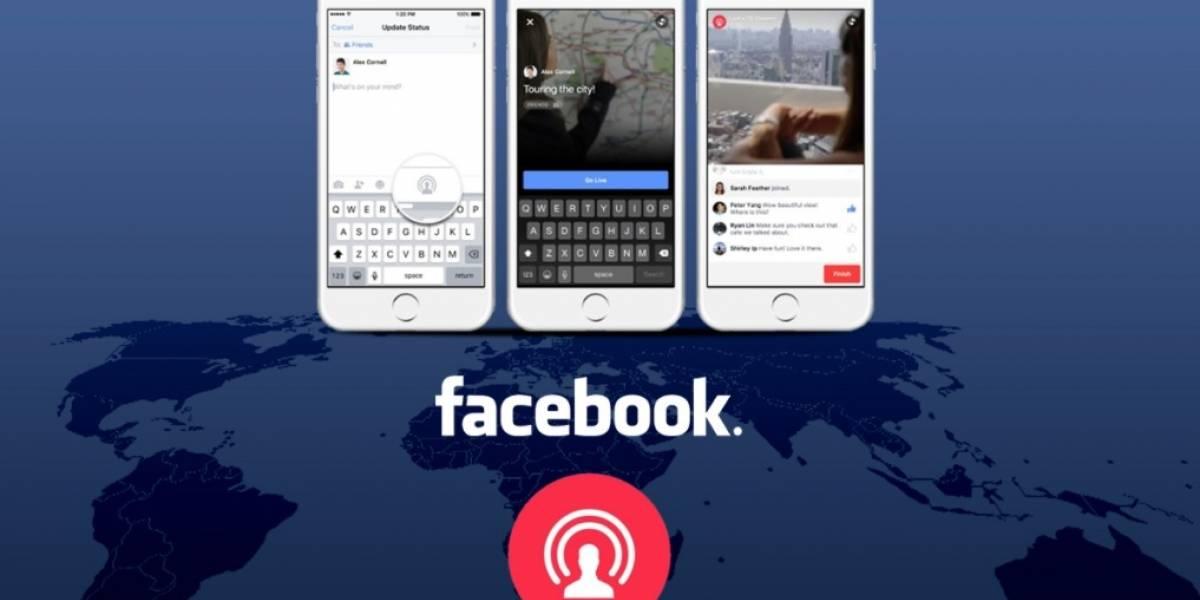 Facebook permite incluir subtítulos a los videos en vivo