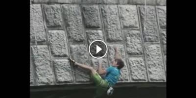 O que dá mais medo, escalar ou pular?