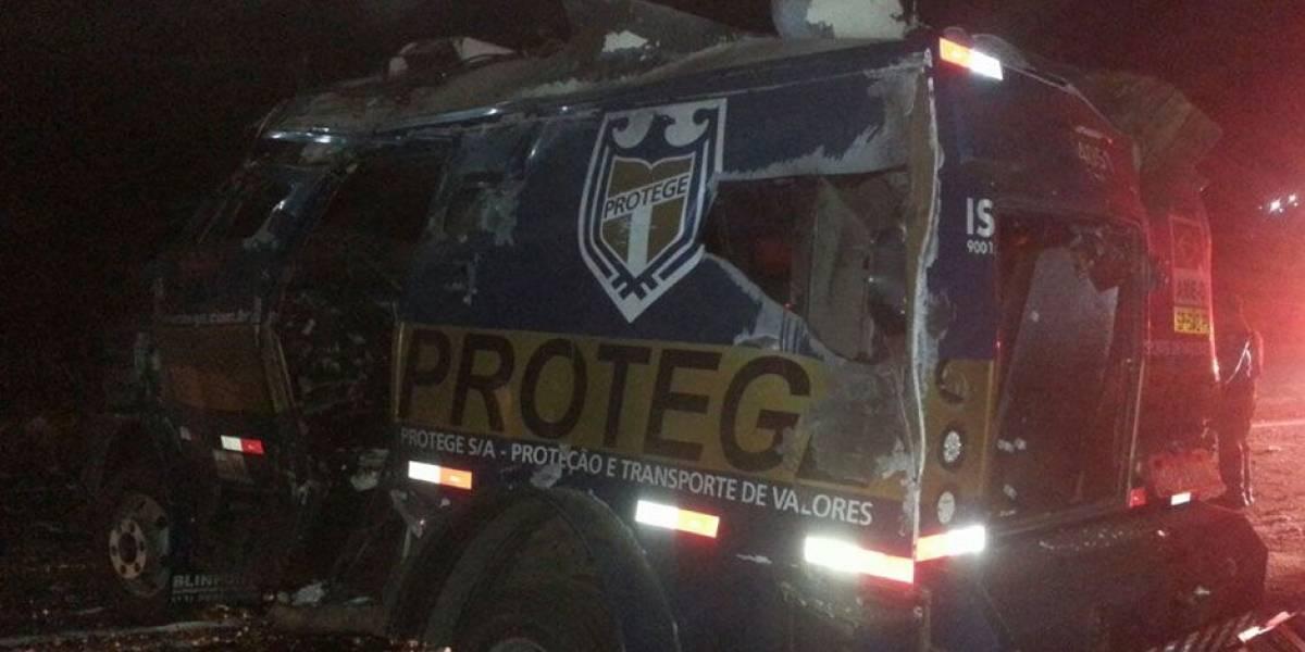 Presos 22 acusados de explodir transportadora