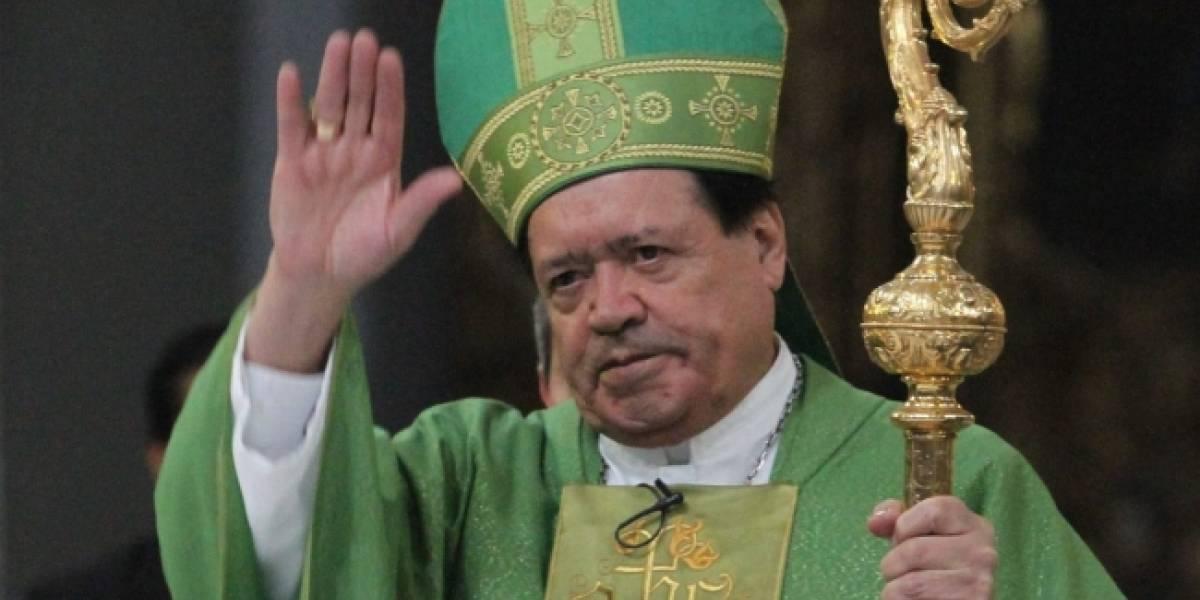 Cardenal Norberto Rivera presentó renuncia al papa Francisco: Arquidiócesis